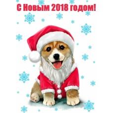 Поздравляем вас с новым 2018 годом!!!